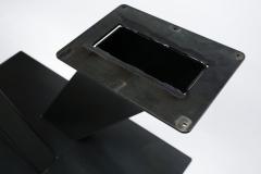 industriele poot gekruist zwart (3)