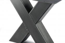 X-poot zwart - Salontafel
