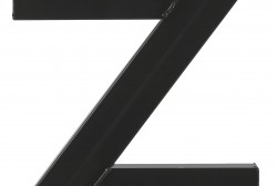Z-poot zwart - Salontafel